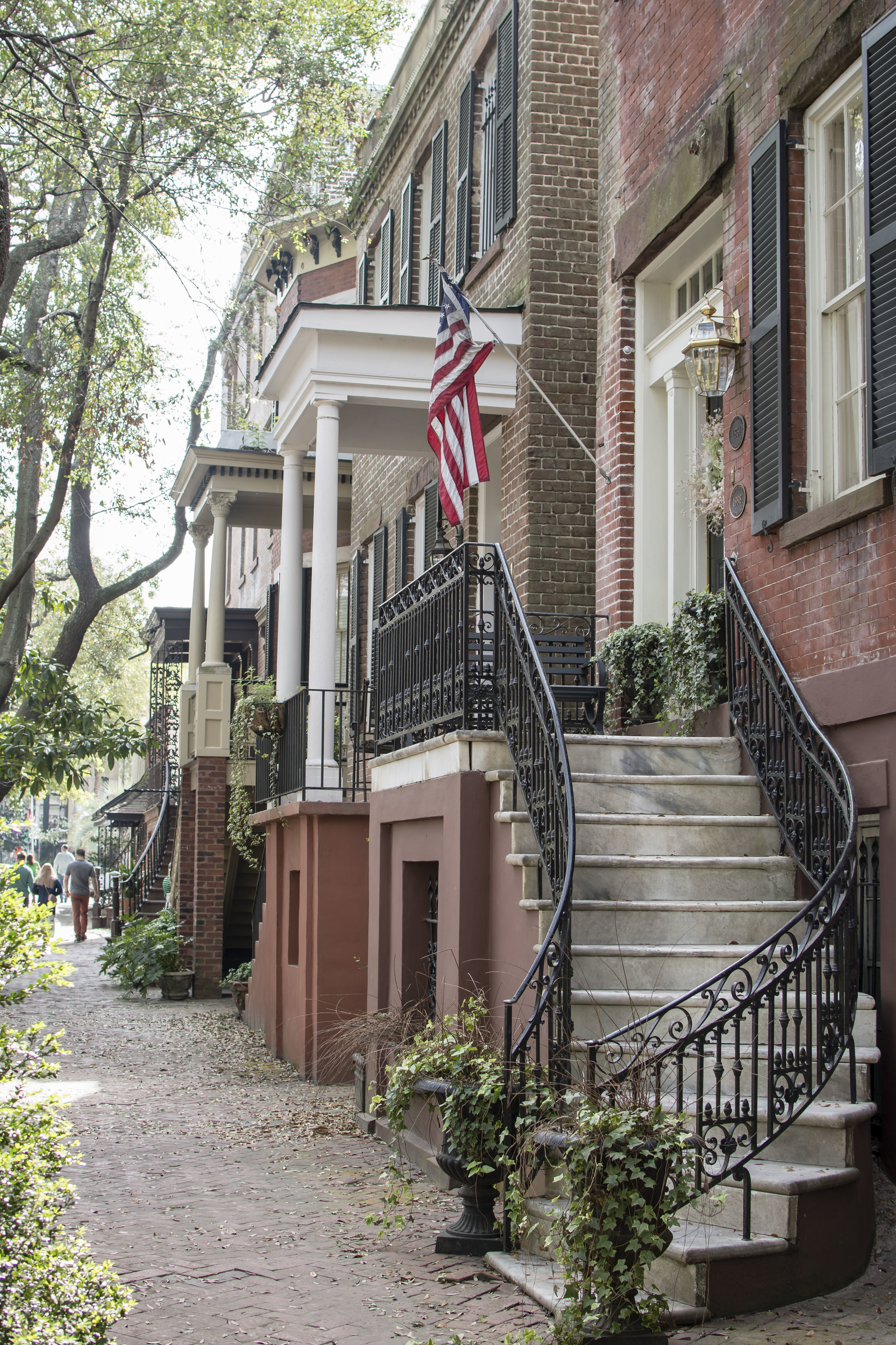 Did You Know? Jones Street was voted one of the most beautiful streets in North America by Southern Living. And it truly is!