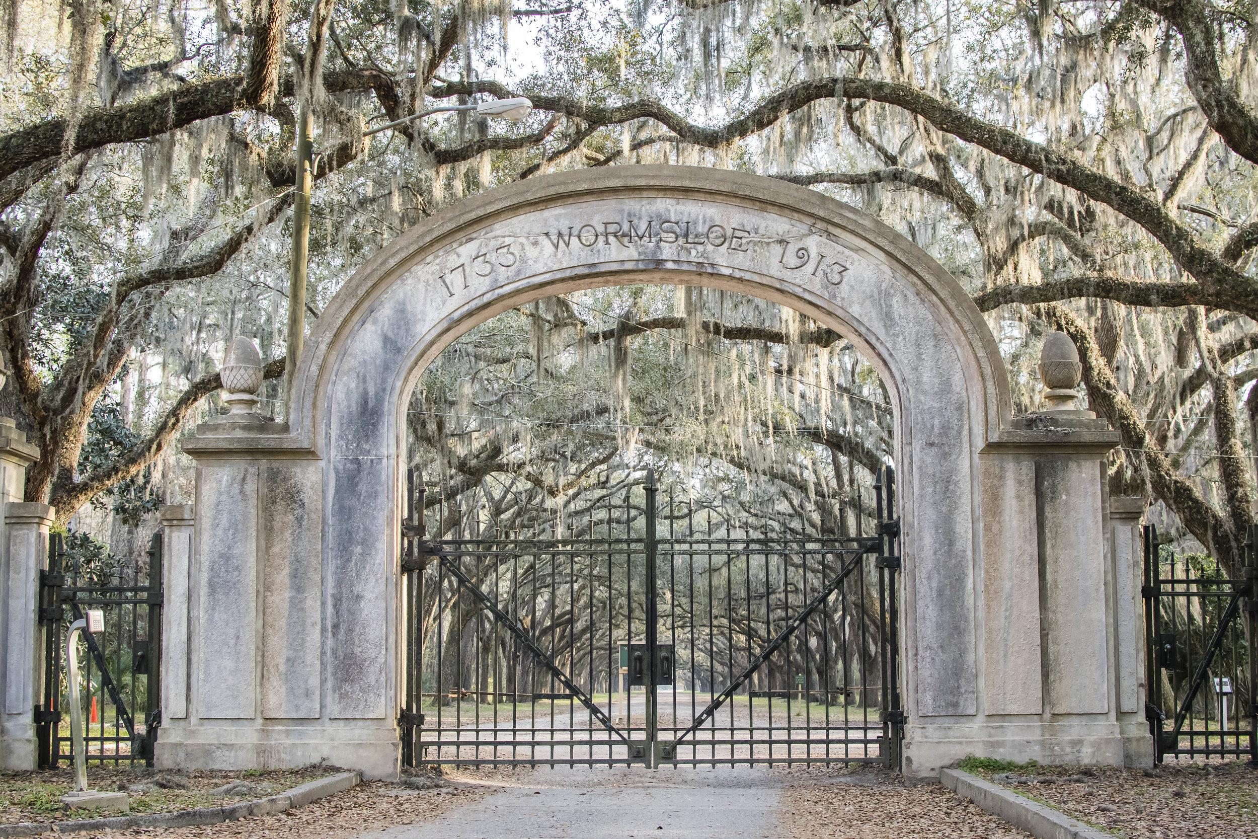 This one is actually outside the Historic District, but it was #1 on my 'Must-See' list and it didn't disappoint at all! Wormsloe...in Savannah, GA