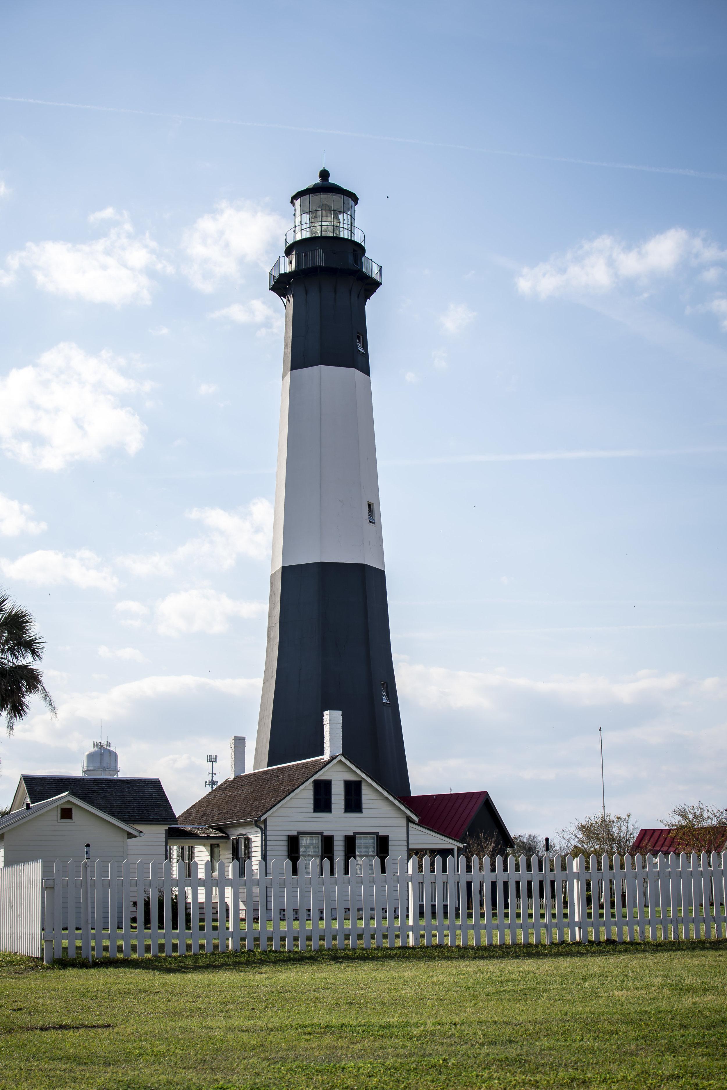 The Lighthouse in Tybee Island, GA