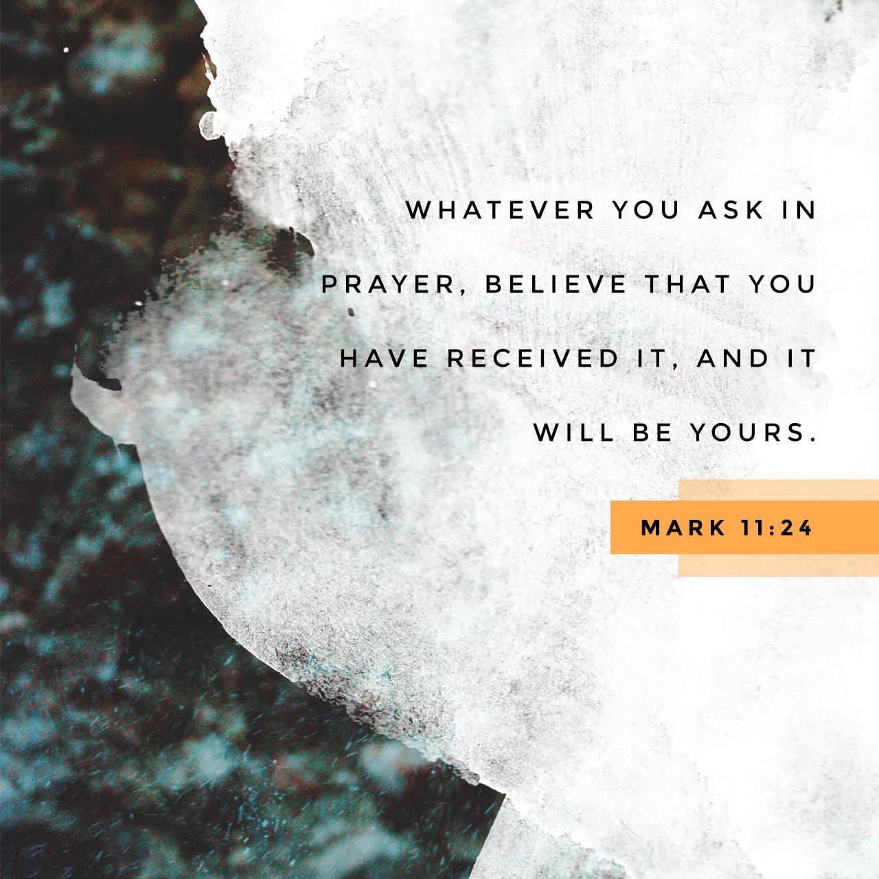 scripture art mark 11 24