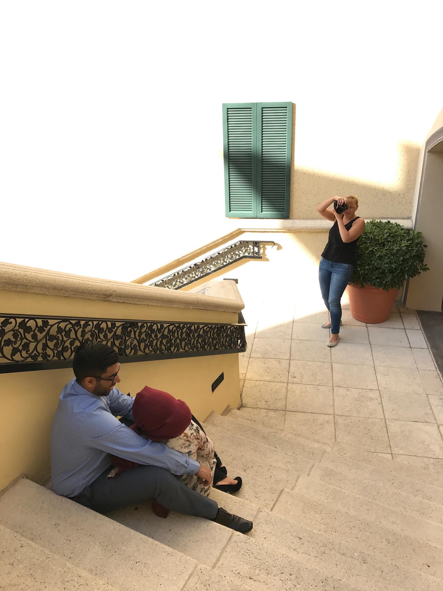 behind the scenes Yanitza Ninett Photography