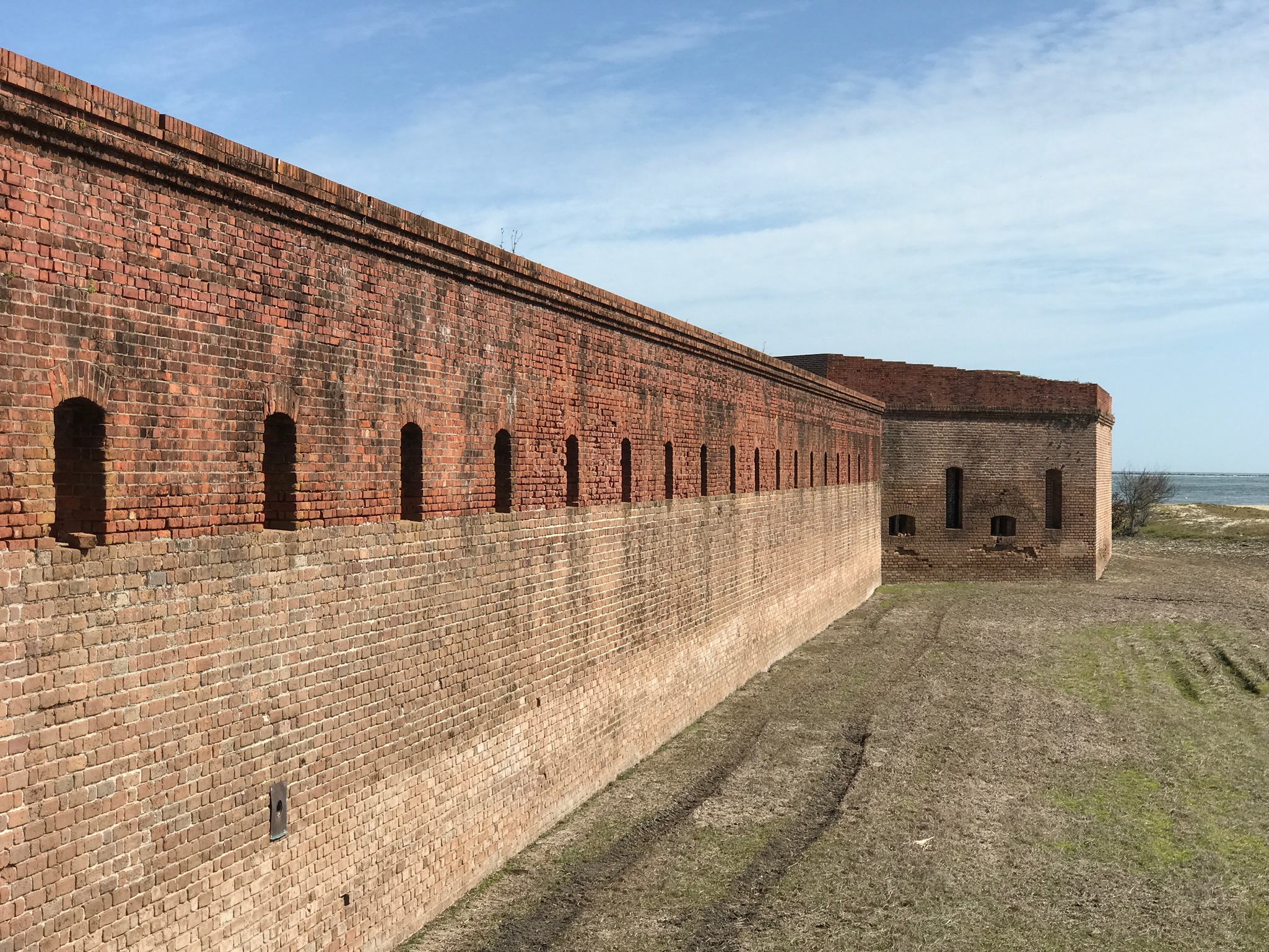 This is Fort Clinch State Park in Jacksonville, FL. Part of one of our Spring Break trips.