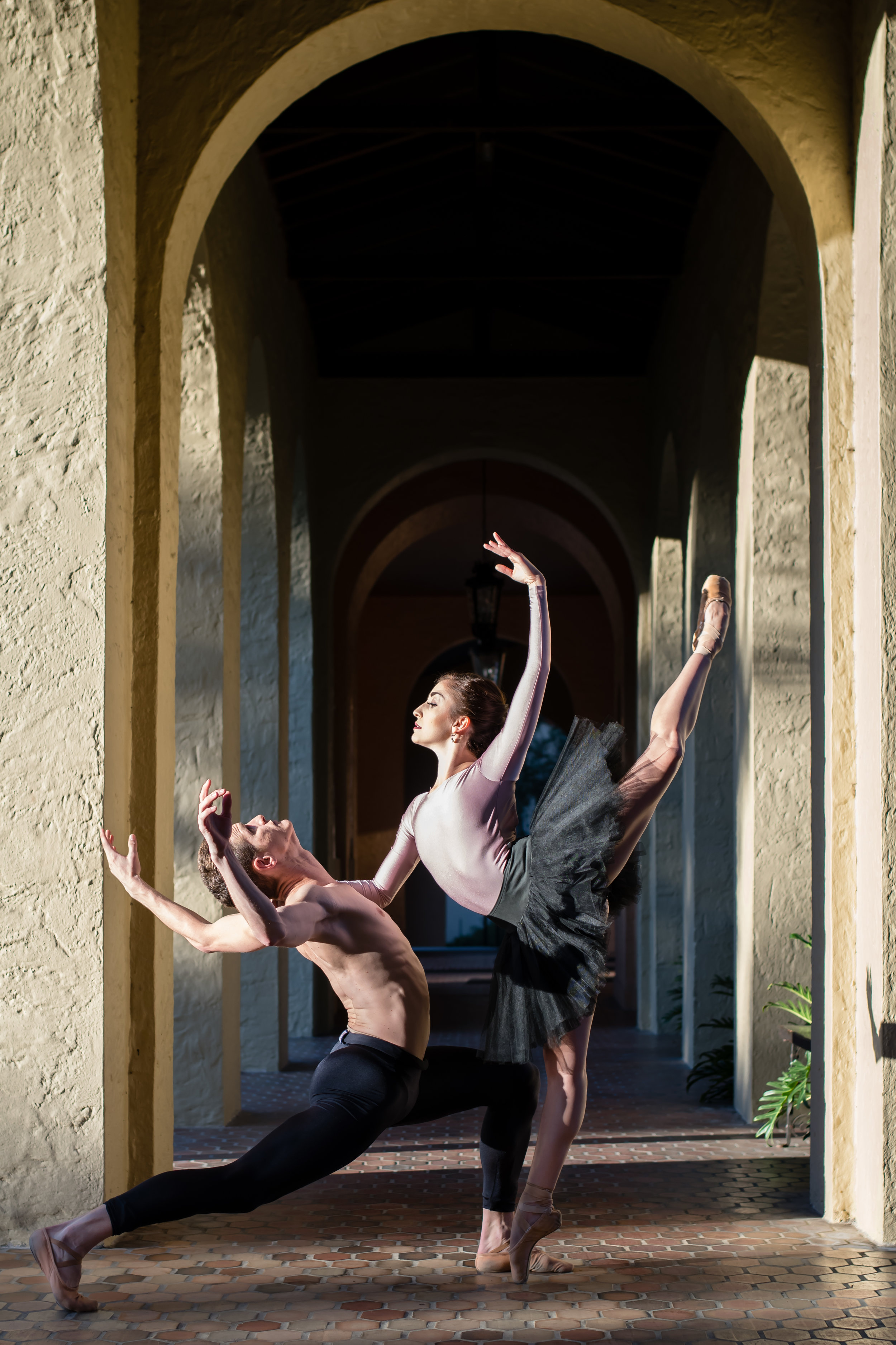 orlando ballet Izzy Mendez and Adam Boreland Dance Photos Yanitza Ninett Photography