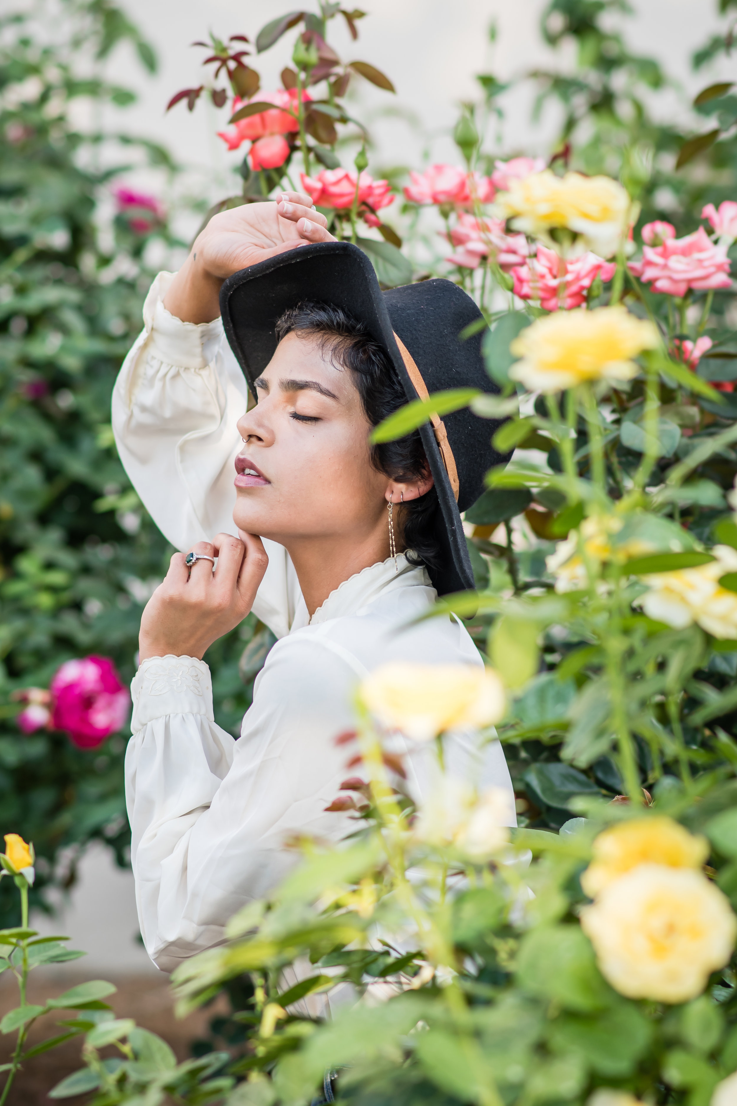 bohemian portrait session Orlando Photographer Yanitza Ninett Top 10 fashion photographers