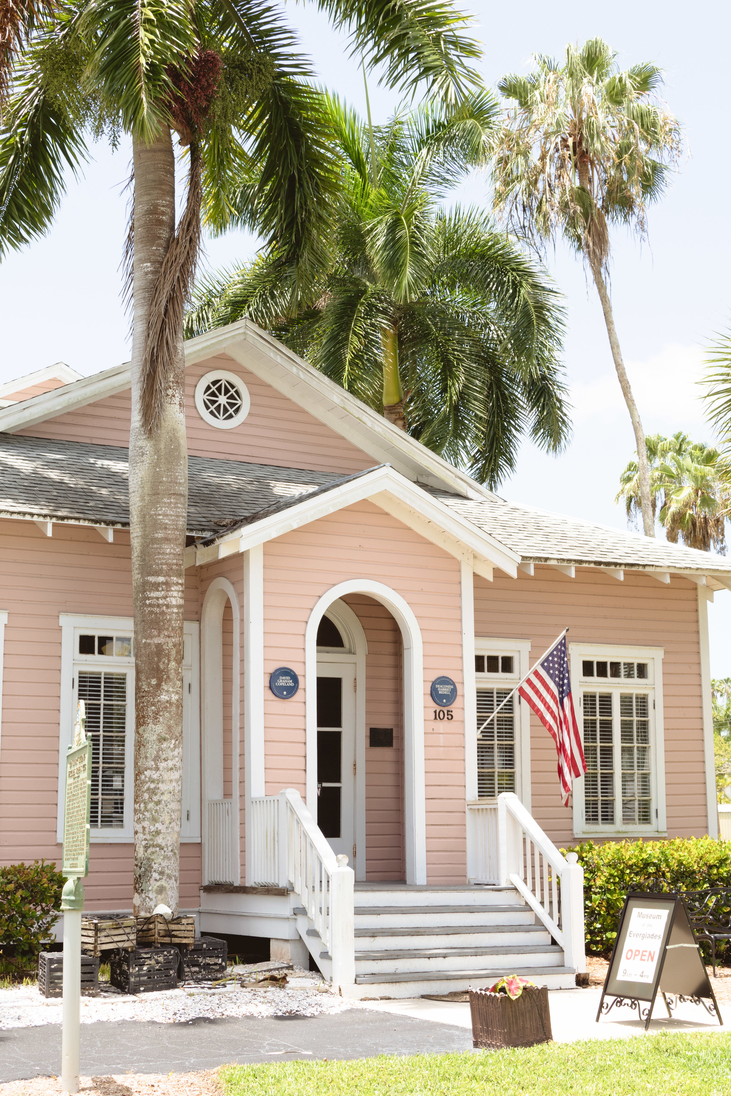 Museum of the Everglades - previously the Everglades Laundry building.