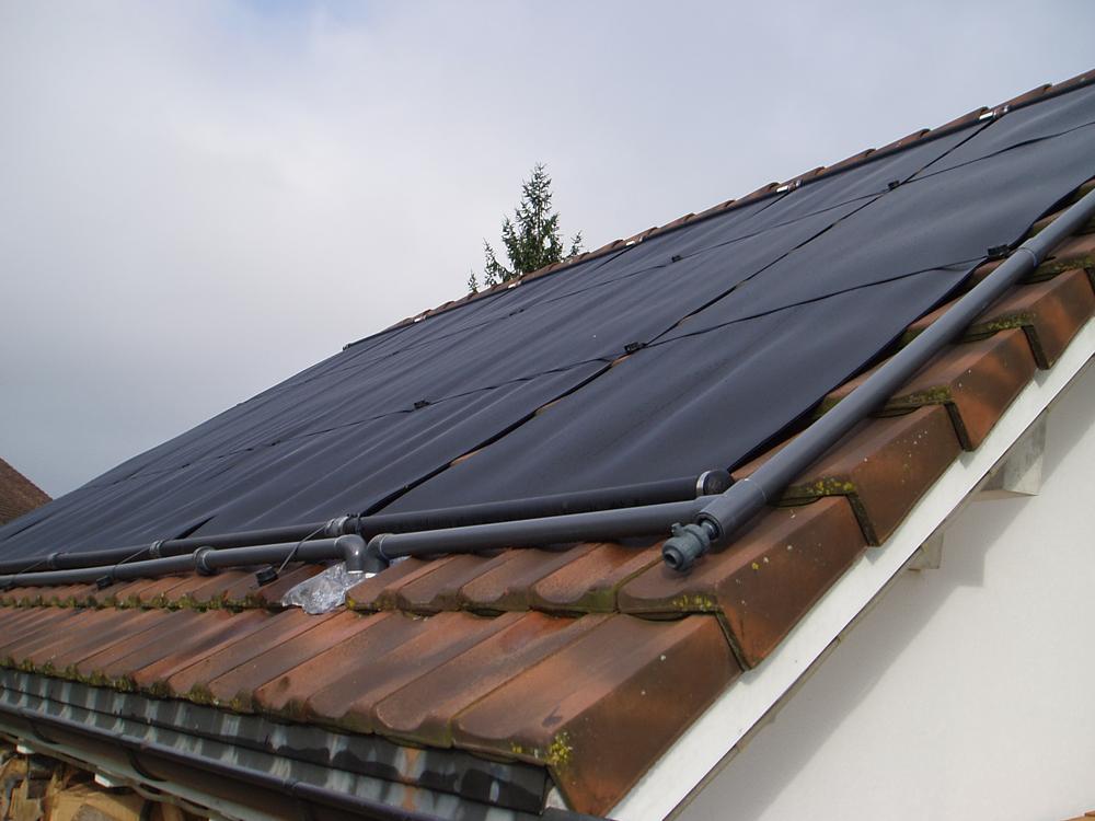 Heizung Solardach / Sonnenenergie