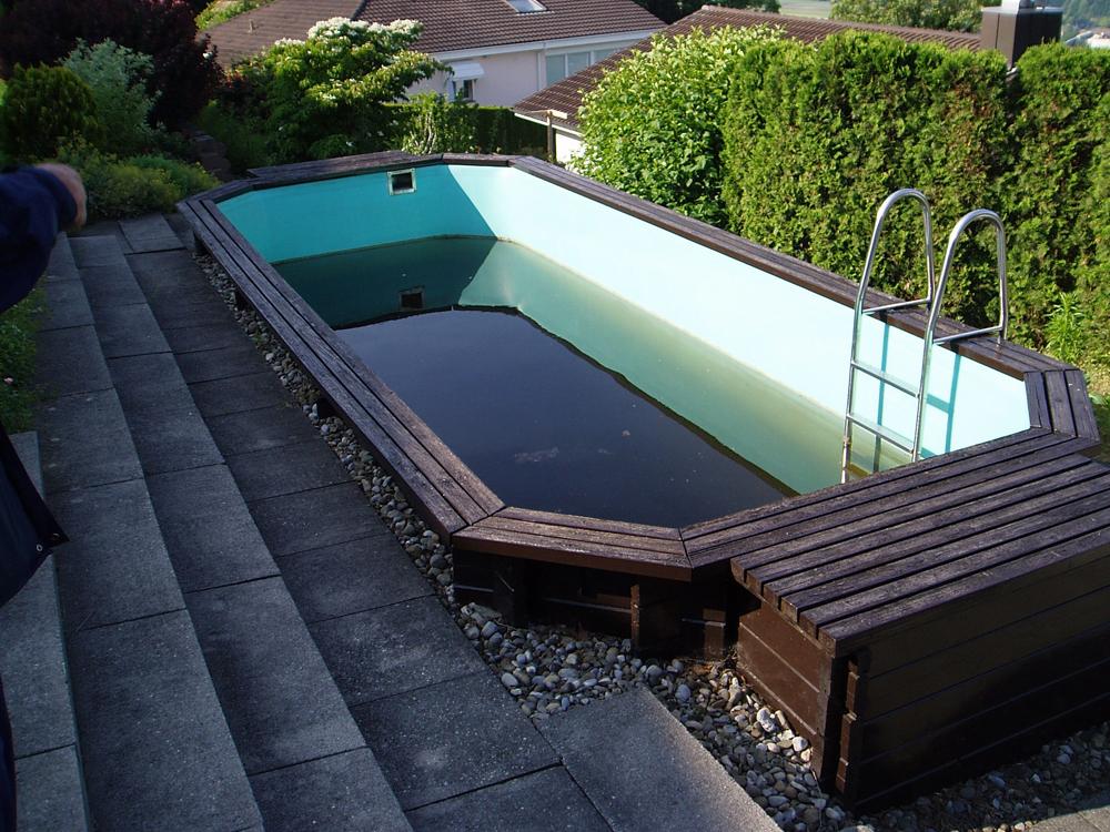 Schwimmbadsanierung / Umbau