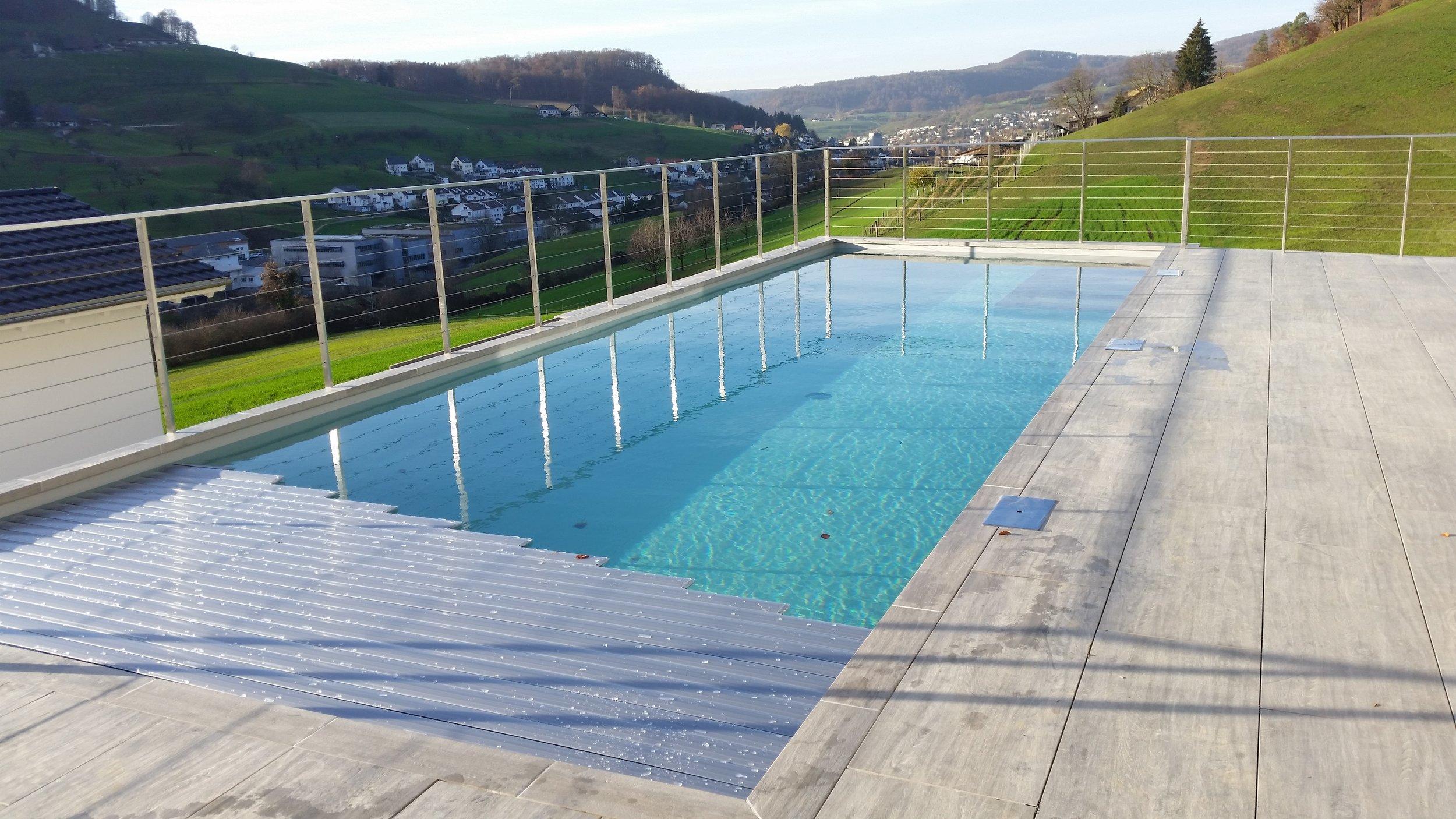 Beton Schwimmbad