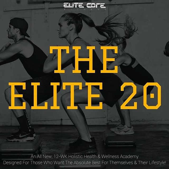 "**Action Takers Special** -- We start tonight, but it's not too late for you to claim your spot and join!  Limited space available.  Learn how to fine tune your diet, jumpstart your metabolism, exercise smarter, manage your stress, reset your sleep, take back your health, plus more all in just 12 WEEKS.  http://bit.ly/Elite20FB  Join The ELITE 20 coaching academy today and start getting the help and support your need.  This is a tremendous investment and I'm offering to you at an amazing price.  Here's what you get... - Weekly coaching with me - Weekly Q & A with me - Part of a private community for support, motivation and more - Accountability partner to help you stay on track and accountable - Access to all recorded calls and sessions - $50 Purium Gift Card - Meal plans, exercise routines, grocery list, goal setting formula and more... ""Test Drive"" it for 30 days at NO RISK for only $197 (billed the remainder after) by using this link... http://bit.ly/Elite20FB  You have my ELITE guarantee that if you are not satisfied after the first 30 days, you will get a full refund -- no questions asked.  Register here NOW... http://bit.ly/Elite20FB"