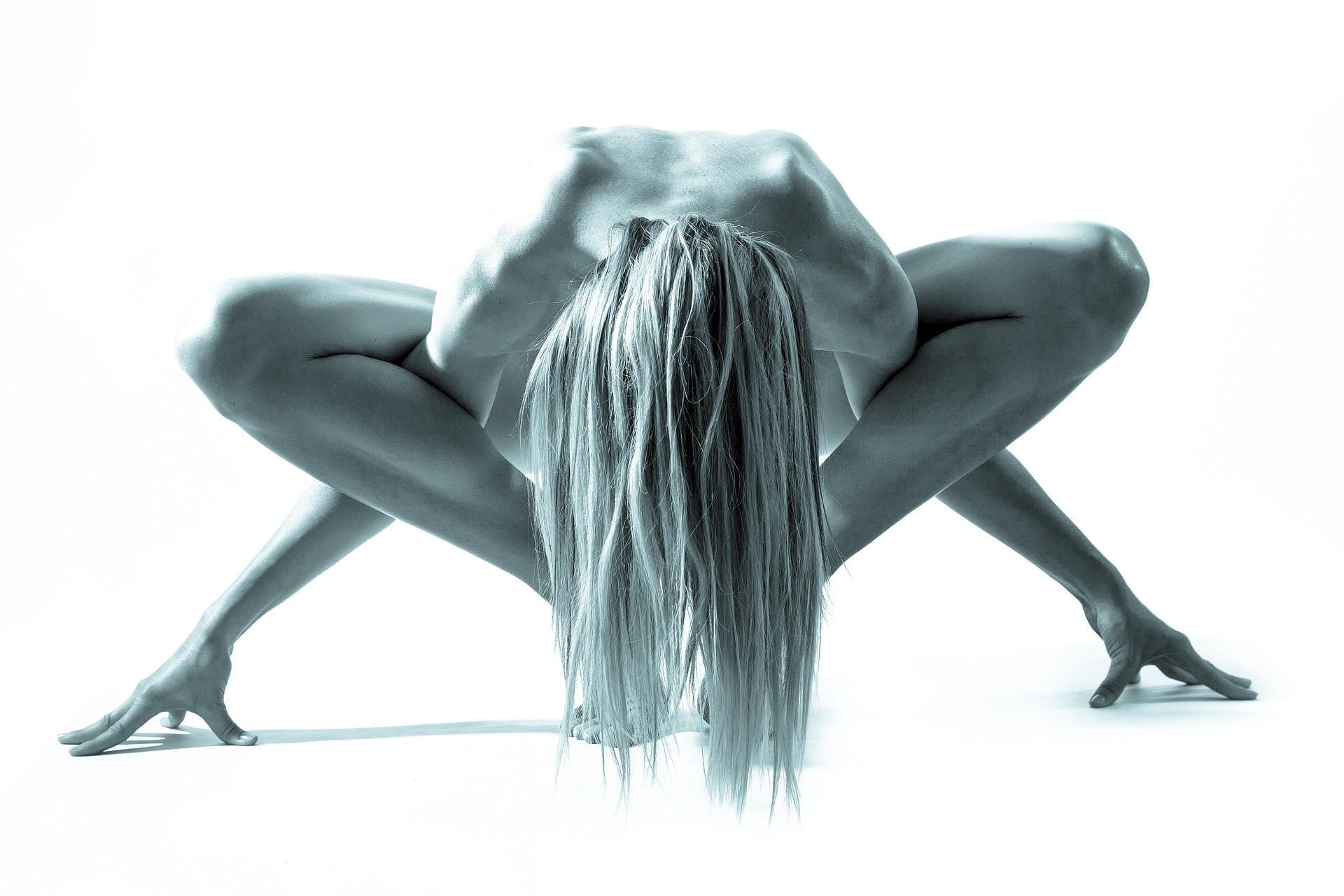 No, I wasn't doing anything like this in Yoga class.