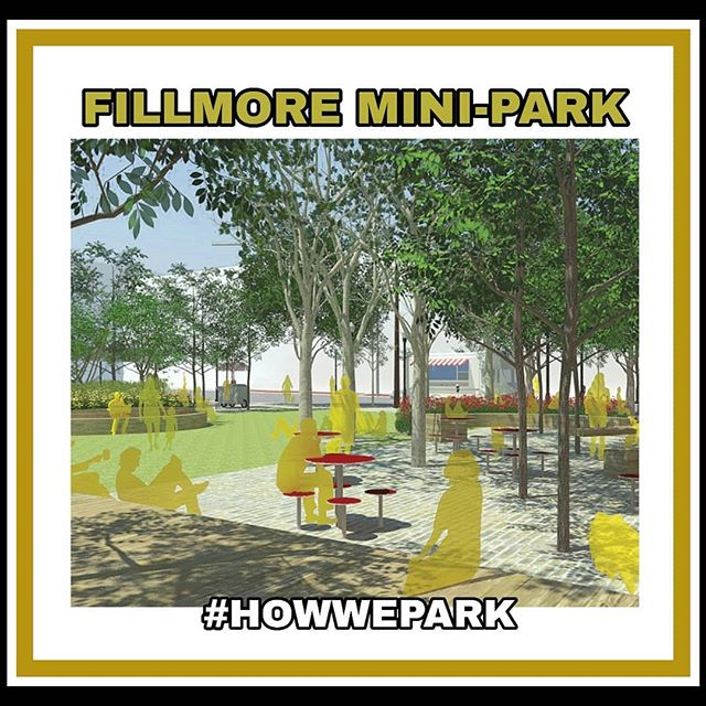 The #NCLF is very happy & excited to collaberate with the San Francisco Park & Rec on the remodeling & renaming of the Fillmore Mini Park