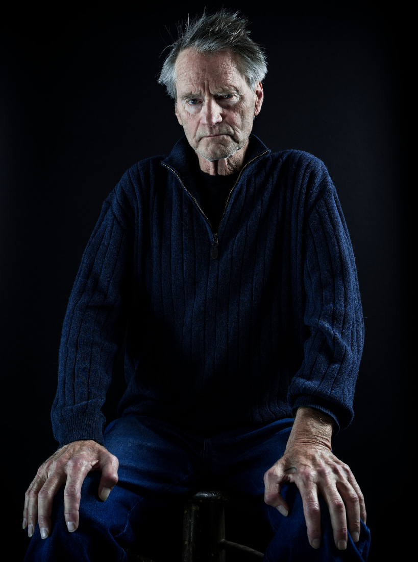 Sam Shepard in the fall of 2016. Photo by Chad Batka for the New York Times.