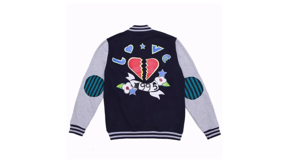 Love 1995 Varsity Jacket, £105 at   Concept Store Y