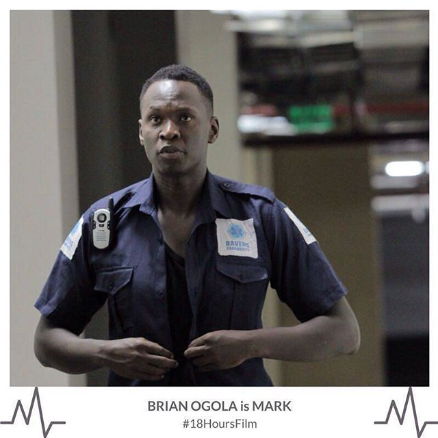 Brian Ogola is Mark! #18hoursfilm