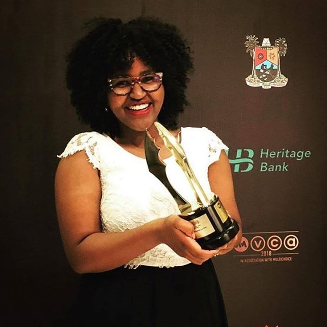 Our producer @ruguru.phoebe when she first won an award in filmmaking,  the 2014 Unchosen Modern Slavery Short Film Competition - London and 2018 Africa Magic Viewers choice awards - Nigeria. Happy #InternationalWomensDay #IWD2019