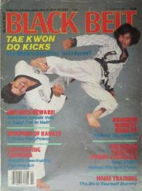 Grandmaster Suh as he appeared on the cover of Black Belt Magazine.