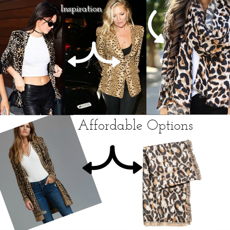 Kendall   Source | Kate   Source |Scarf  Source |Affordable:  Cardigan  Source  $54.95 |  Scarf  $29