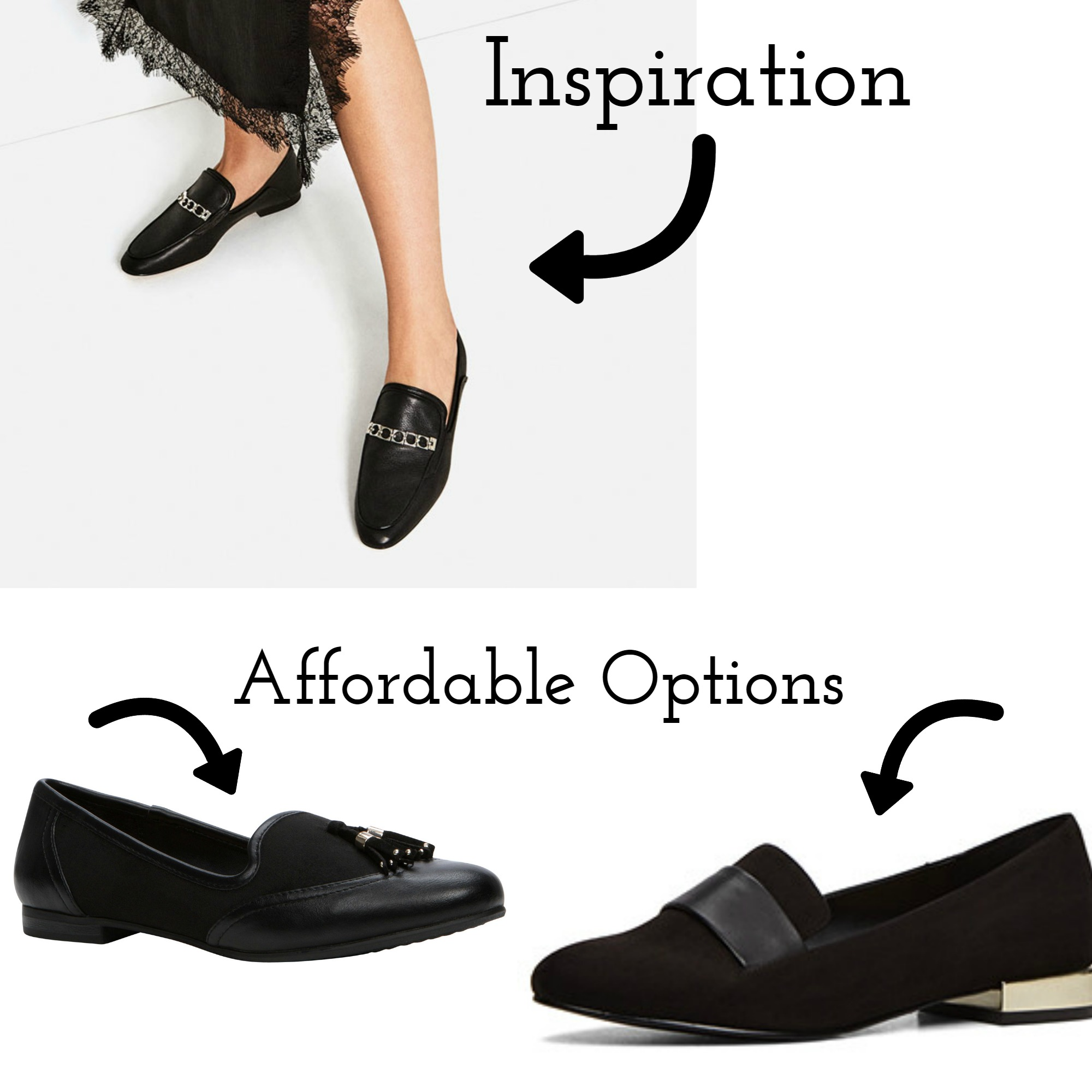 Inspiration   Source  |  Affordable  Options Source  Left |  Right