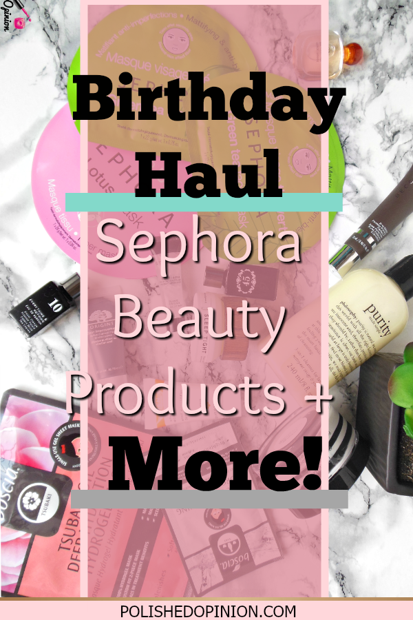 Birthday Girl here! Got some AH-MAH-ZING Sephora beauty products and I'm sharing my haul with you!! Click here to learn more and subscribe to get my upcoming reviews on these products!!