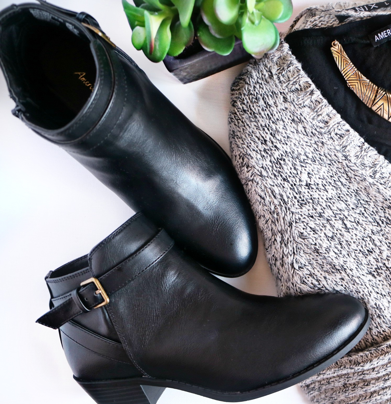 Booties - Bought October 02 - On Sale for $39.99 CAD