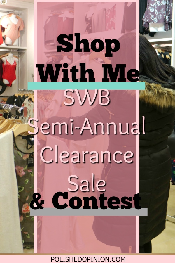So Excited to share with you all my collaboration with Shoppers World Brampton for the Semi-Annual Clearance Salve event & CONTEST!!! Click here to learn how to enter!!
