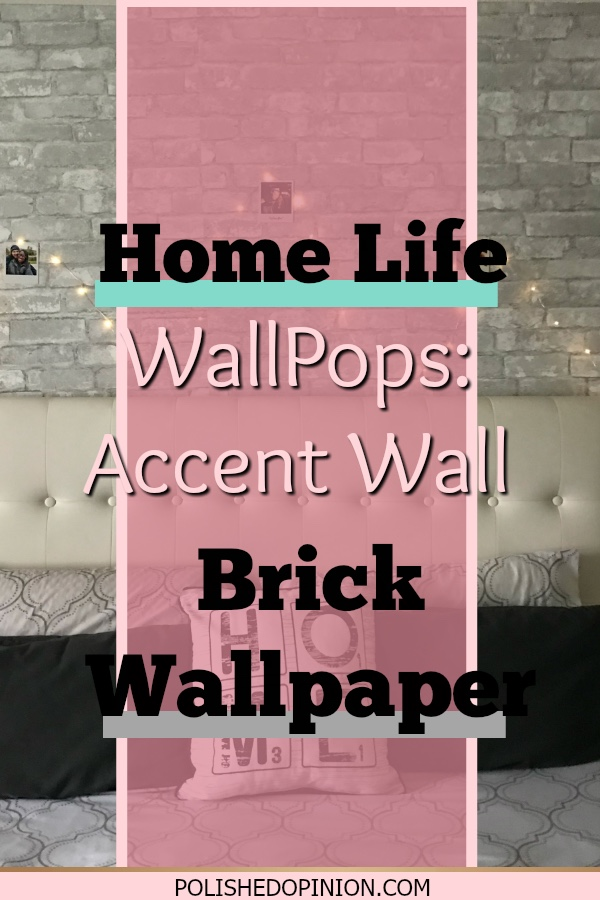 Are you ready for my first Blog/Vlog post! Click to check out my WallPops wallpaper experience and final verdict!