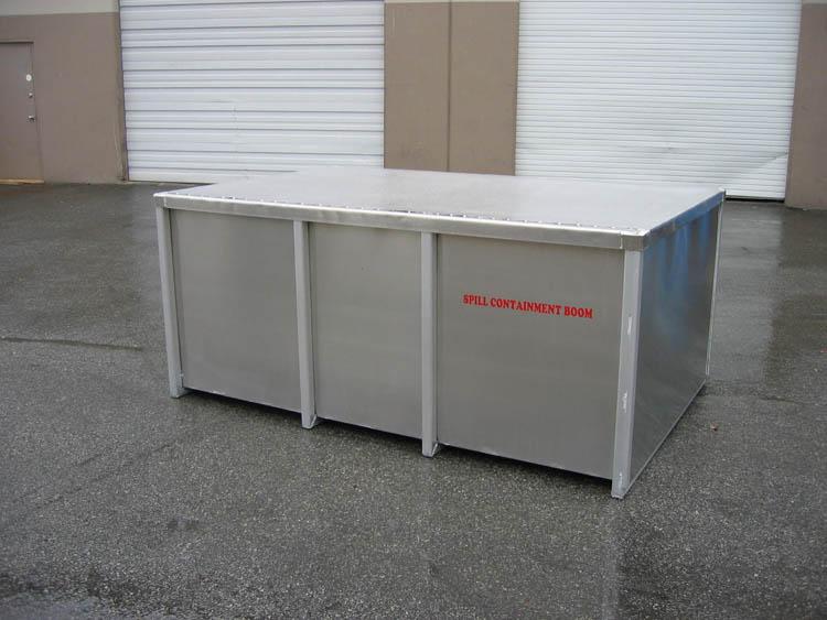 Aluminium Boom Storage Container