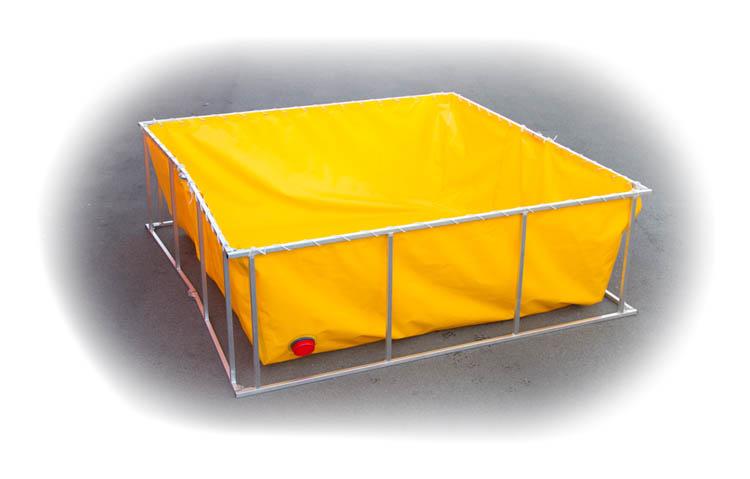 Foldable Frame Tank (open)