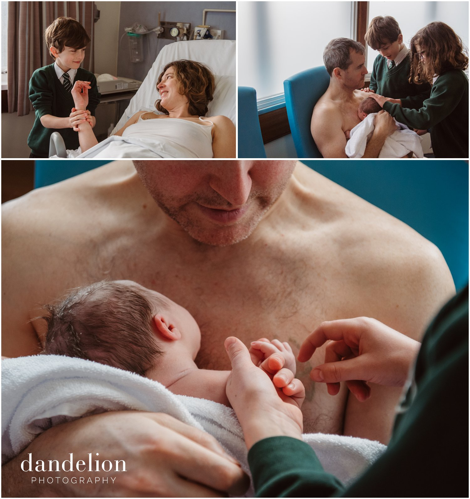 professional family photography capturing birth