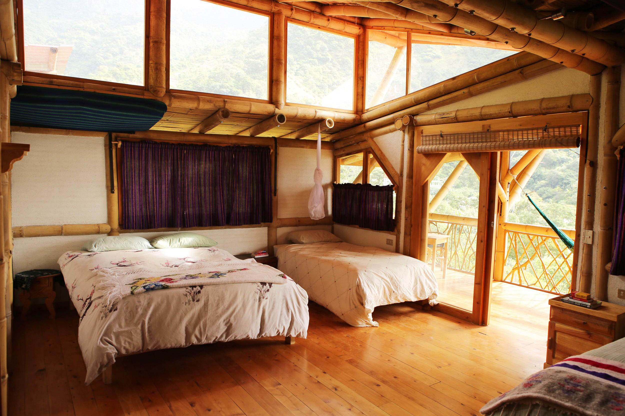 Bambu Guest House, Retreat Center, Natural Building, Atitlan Organics, Lake Atitlan, Guatemala, Central America, Regenerative Design, Permaculture