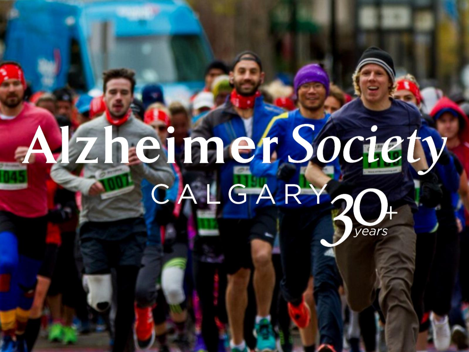 ALZHEIMER SOCIETY WALK & RUN