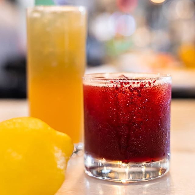 JAM SESSION: vodka, cherry, blackberry, hibiscus, burlesque bitters. It'll rock your socks off! . . . #cocktails #beer #wine #craft #allnatural #happyhour #datenight #oc #tustin #irvine #centralbaroc #drinklocal #craftcocktails #cocktails #drinkup #summer #livemusic