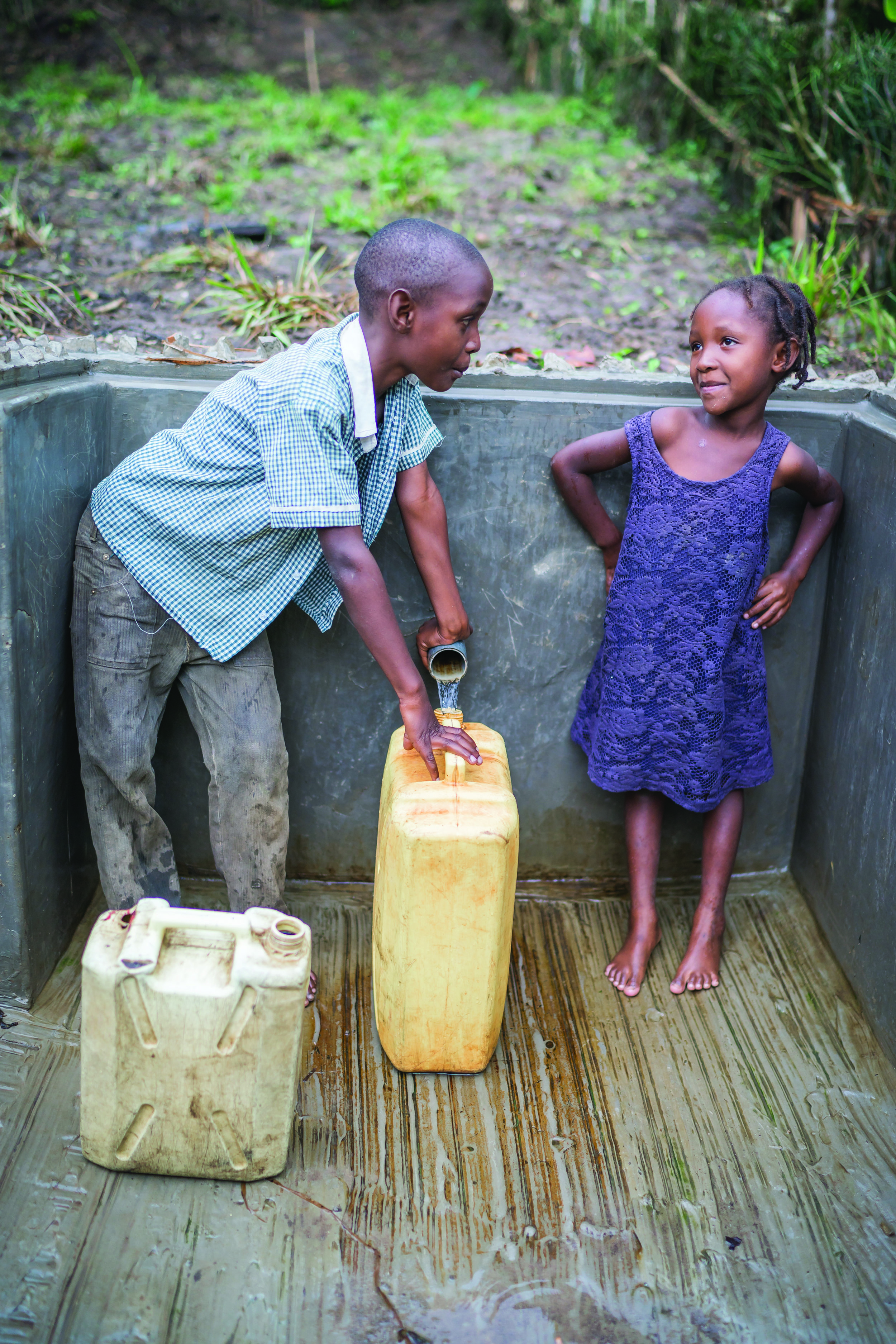 A Ugandan village now has safe, healthy water