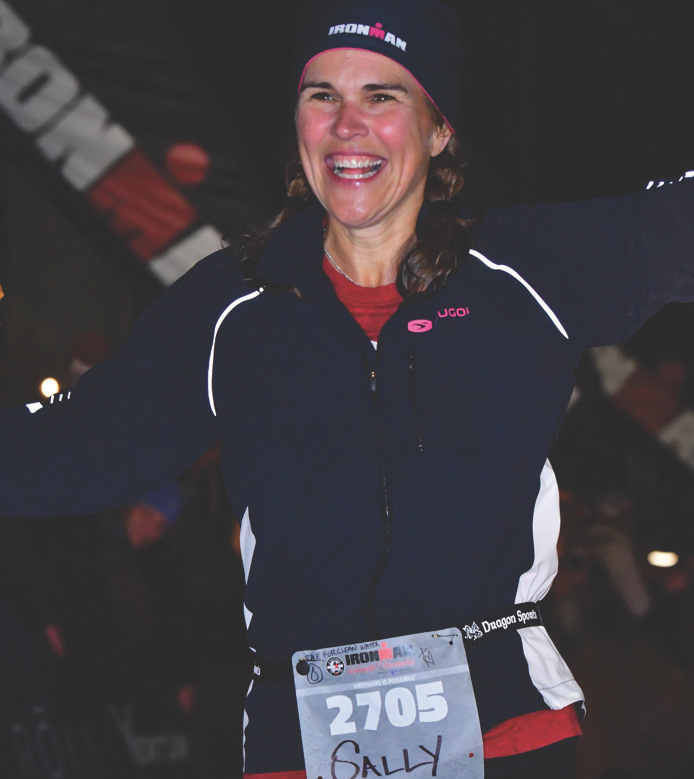 Why Sally keeps racing for clean water
