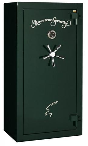 American Security gun safes feature a lifetime warranty against theft and fire and are rated with a high-security burglary classification.