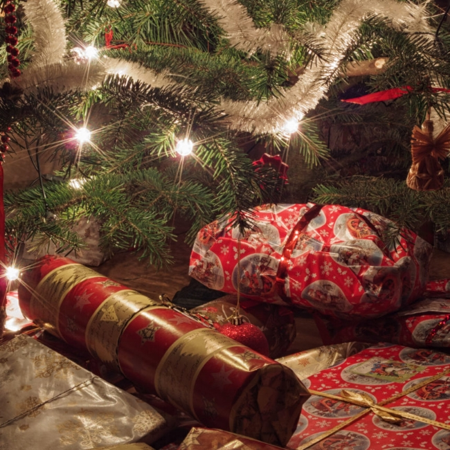 Putting gifts under the tree makes a break-in like a shopping trip for thieves.