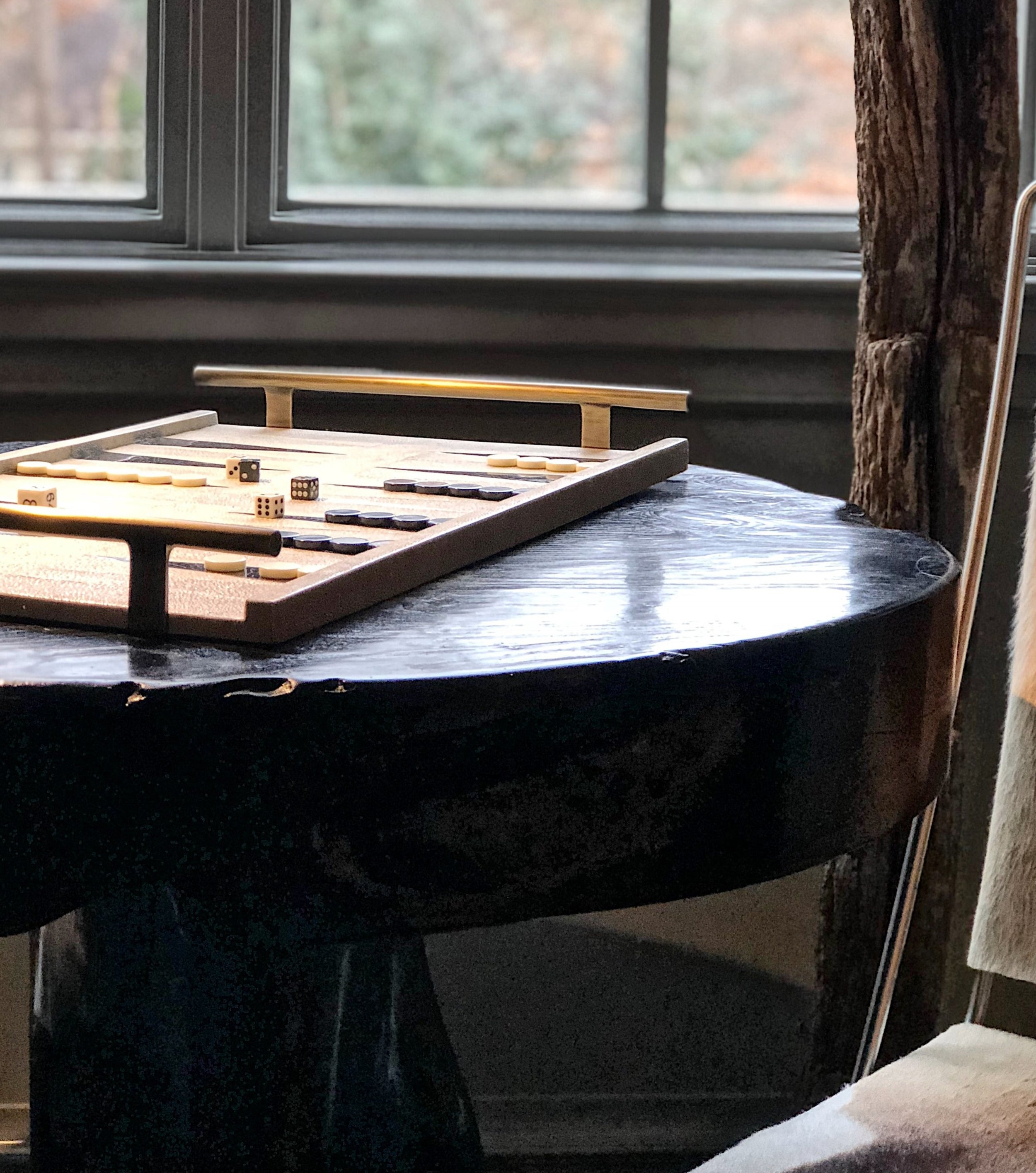 """- INVITE YOUR GUEST TO READ — TO PLAYWhether in your lobby or your rental, if you have the surface space and can pull out a game, it will invite use. If in a closet, it's nice as an amenity, but doesn't say, """"sit here and play with me.""""Not to mention, it's simply pretty.designer: Kati Hardwick"""