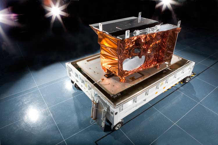 VIIRS Sensor . Image courtesy of Raytheon Space and Airborne Systems.