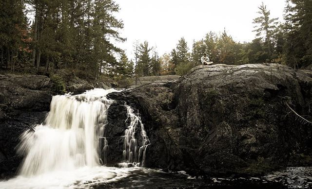 #tbt a re-edit of one of my pictures from 2007 trip to Marquette Michigan. The countryside is so beautiful up there I hope to make it up there again soon. #photography #waterfall #zen #meditate #marquette #michigan #michiganawesome #instagood #photooftheday #beauty #followme #cool