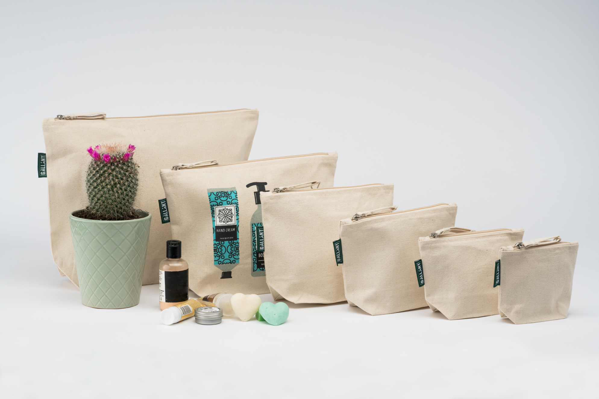 Zipper pouches are versatile and a perfect product to add to your bag collection!