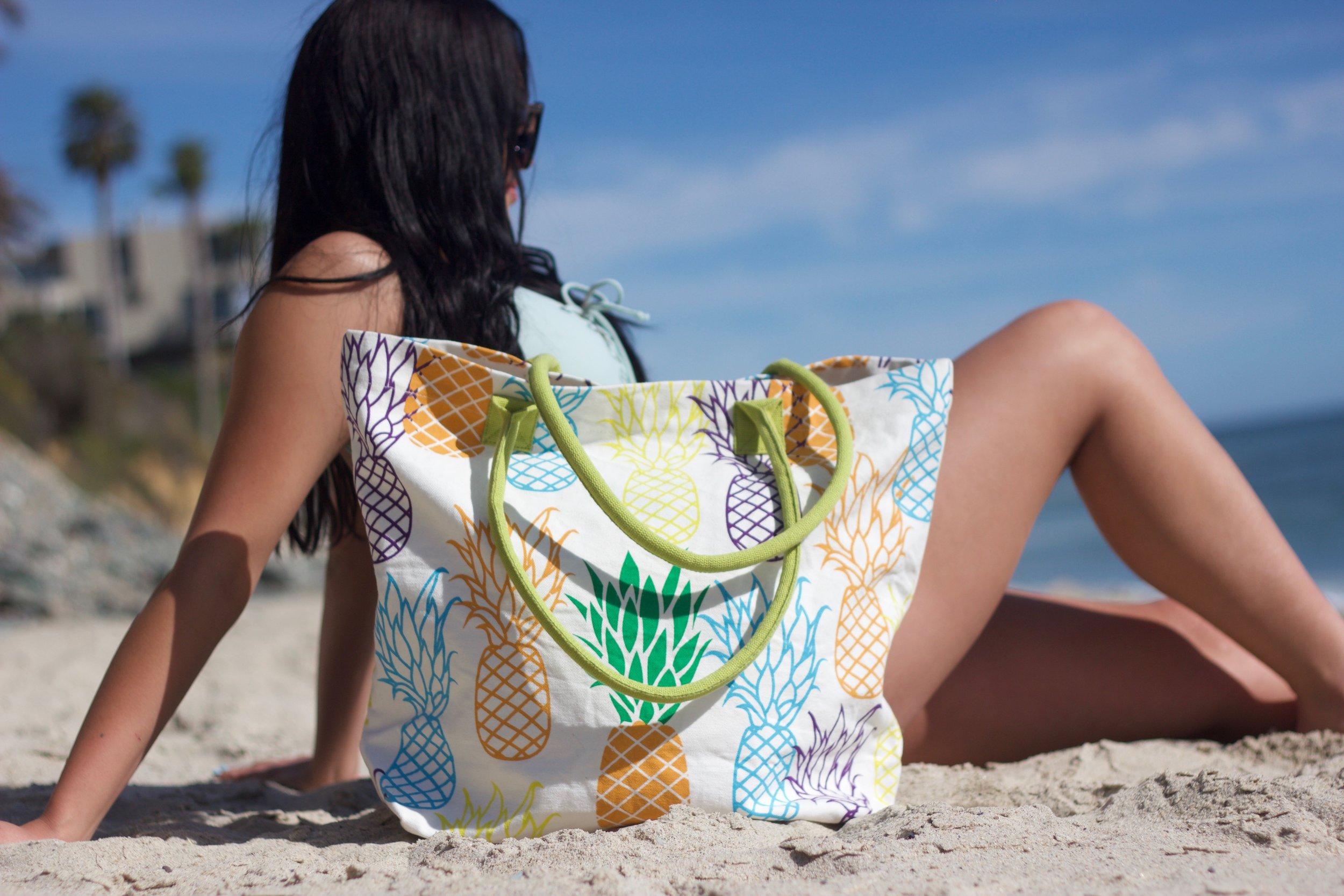 Organic Cotton Beach Bags