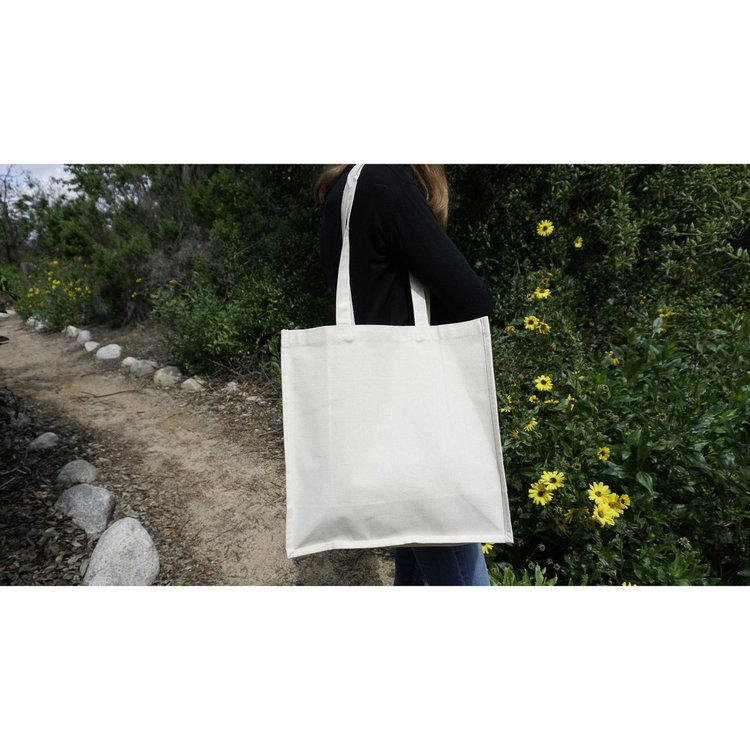 Blank Canvas Tote Bag - Product Reference #T14