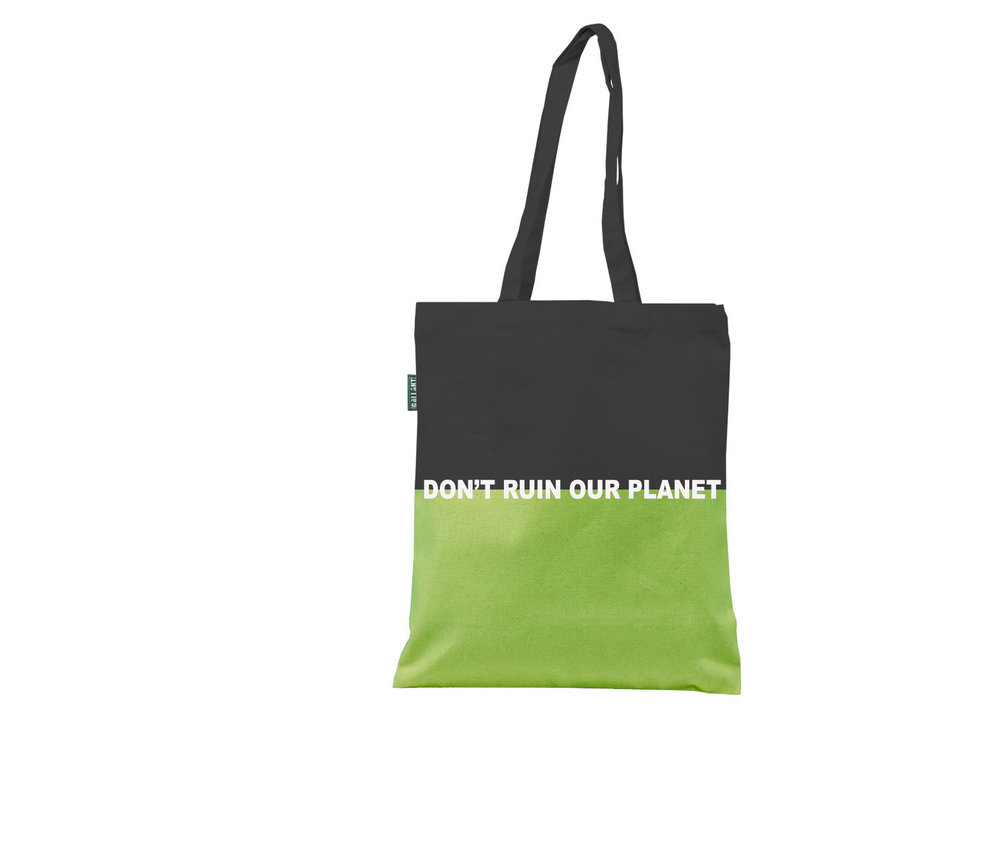You can print important message for your customers on our tote bags. Product Reference #T2