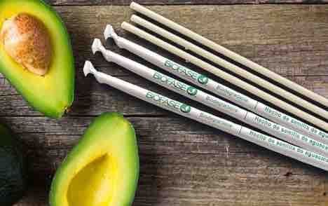 Photo via https://mexiconewsdaily.com/news/biodegradable-straws-from-avocado-seeds/