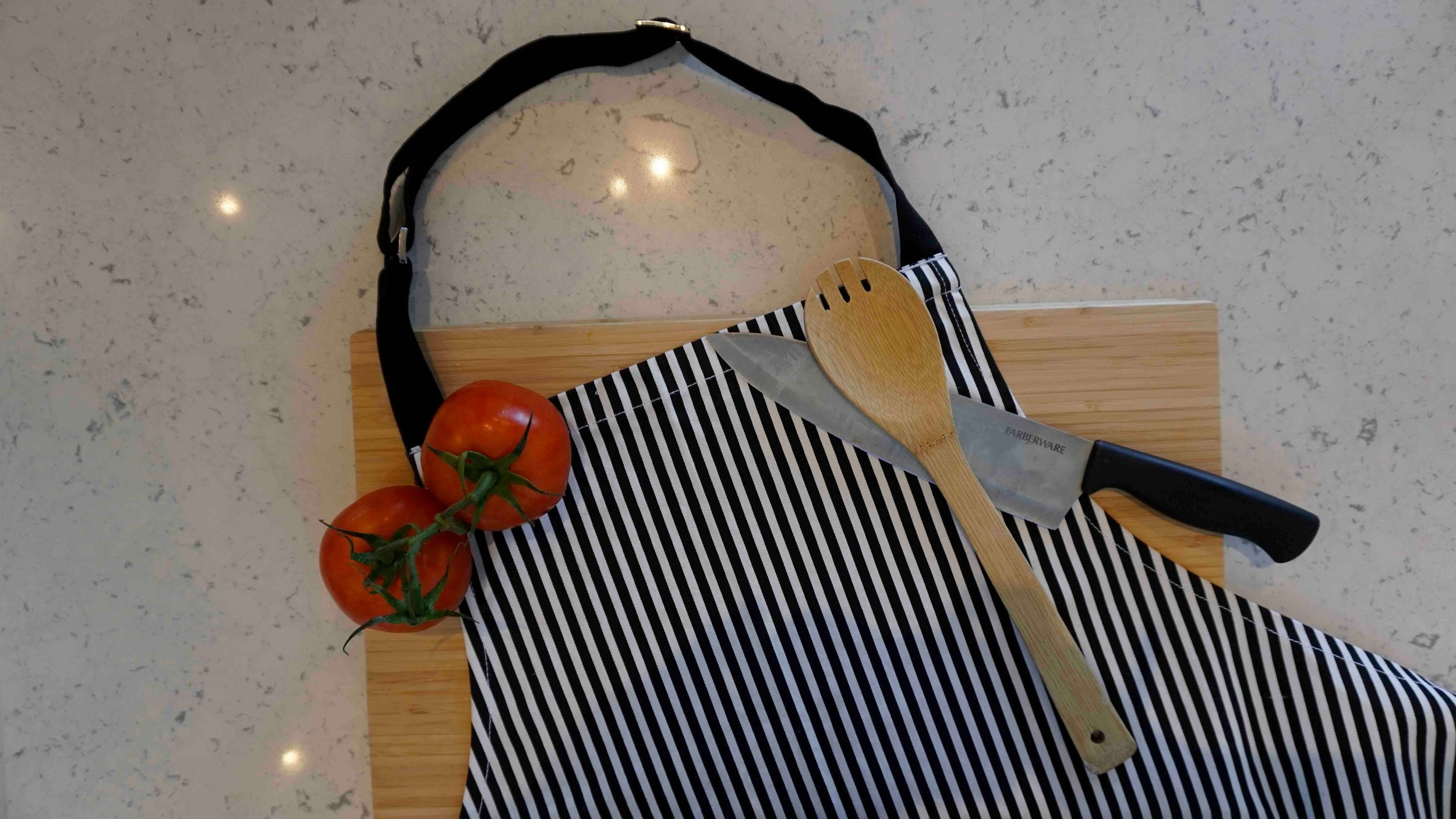 organic cotton aprons