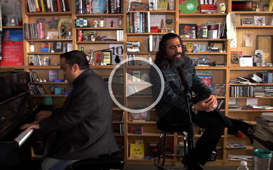 NPR Music Tiny Desk Concert, 2015.