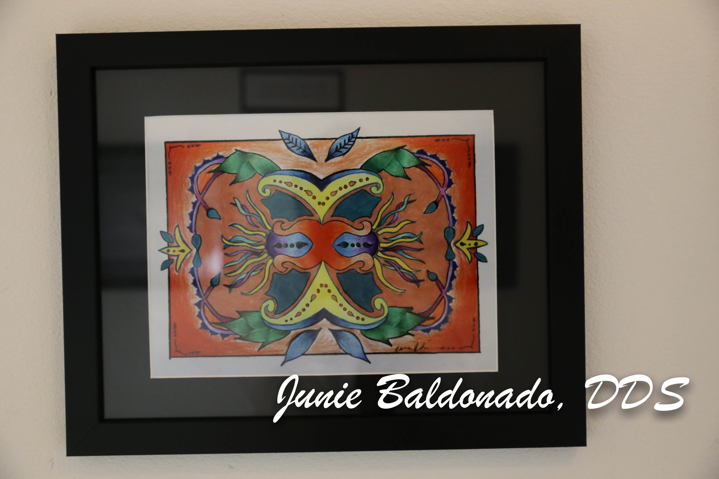 Junie Baldonado, DDS Community Art Gallery