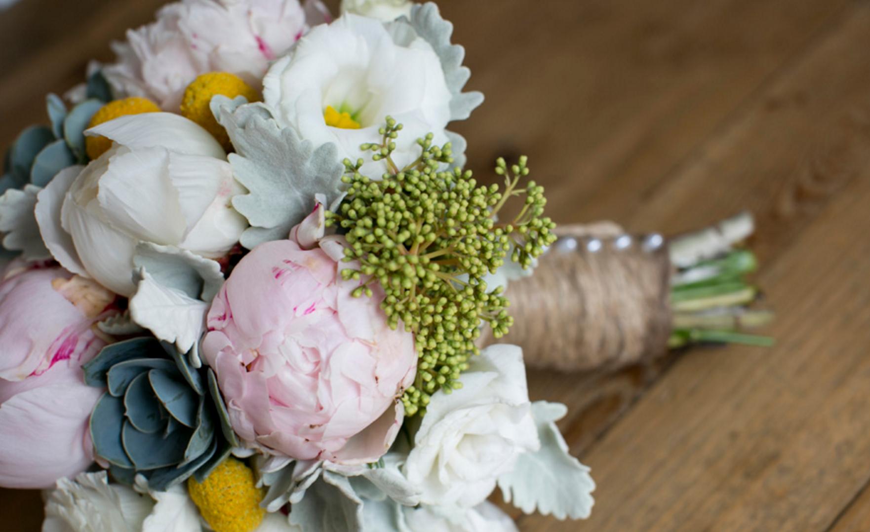 Chantell's Wedding Bouquet