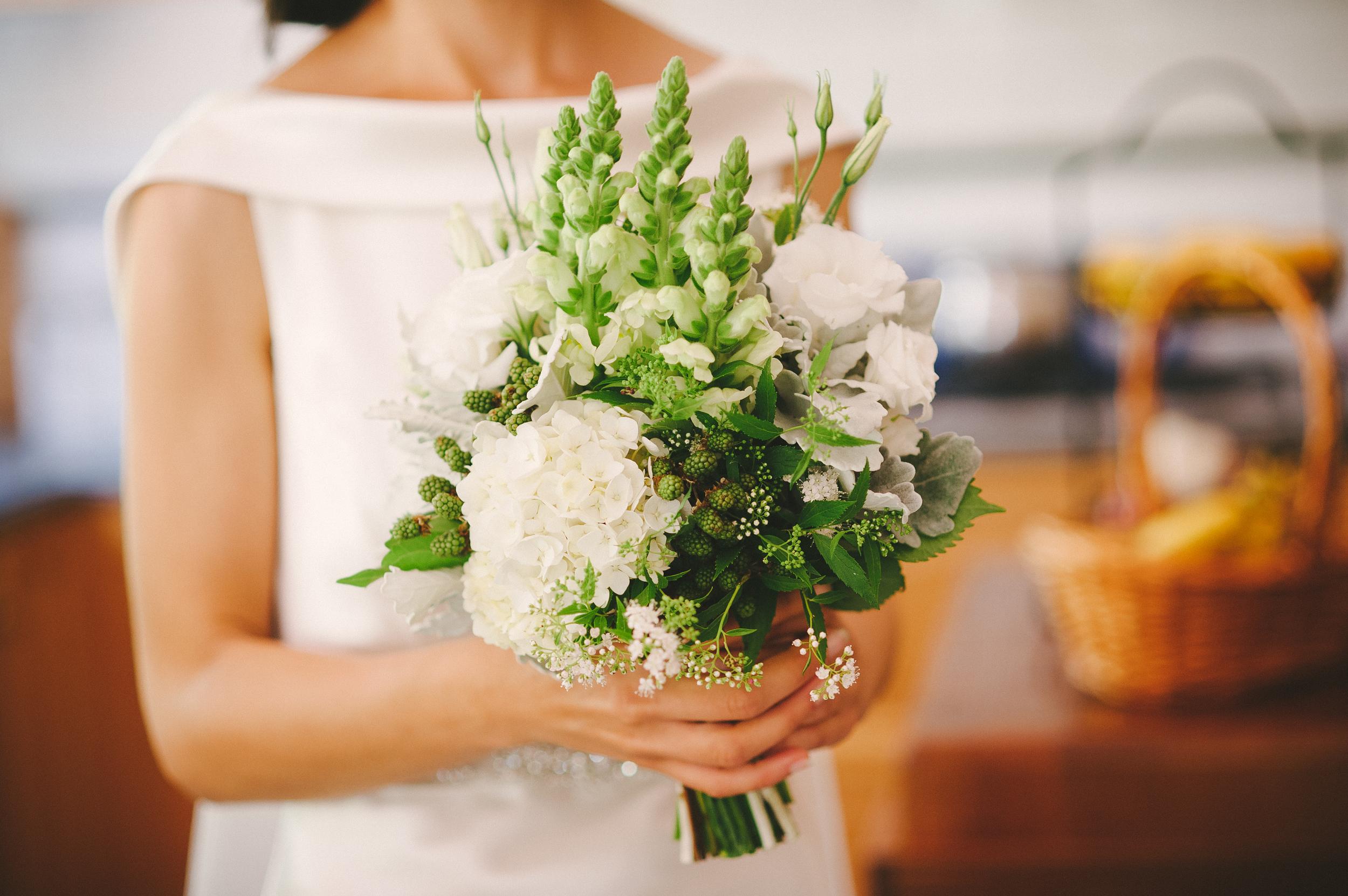 Deanna's Wedding Bouquet