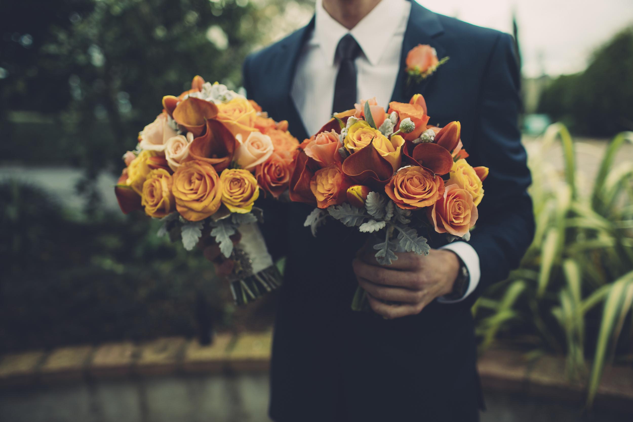 Claire's wedding bouquets